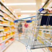 supermarkt winkelen